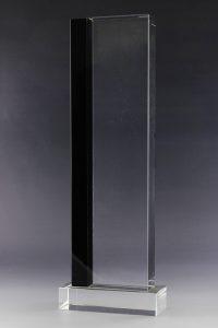 """Glaspokal """"Athina Award"""" mit Glasgravur"""