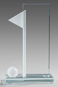 "Golfpokal ""Brix Award"" mit Lasergravur"
