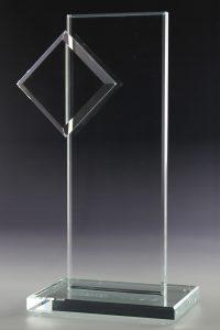 """Glaspokal """"Cinto Award"""" mit Glasgravur"""