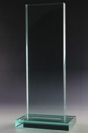 "Glaspokal ""Dira Award"" mit Lasergravur"