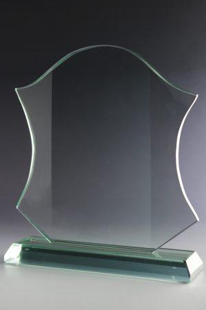 """Glastrophäe """"Insigne Award"""" mit Lasergravur"""
