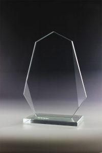 """Glaspokal """"Neva Award"""" mit Glasgravur"""