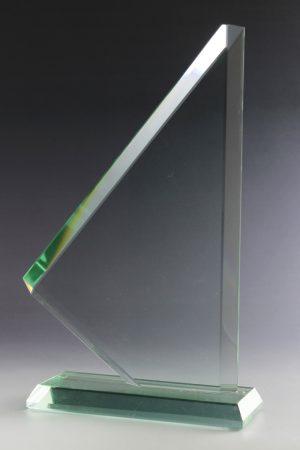 """Glastrophäe """"Panax Award"""" mit Glasgravur"""