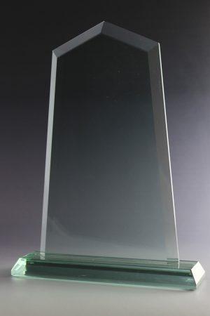 "Glastrophäe ""Sagita Award"" mit Glasgravur"