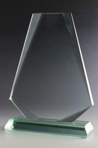 """Glaspokal """"Vento Award"""" mit Glasgravur"""