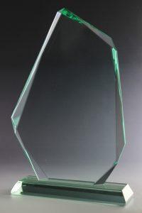 """Glaspokal """"Vertex Award"""" mit Glasgravur"""