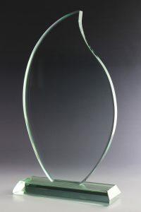 "Glaspokal ""Viro Award"" mit Glasgravur"