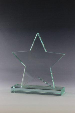 "Glaspokal ""Arcao Award"" mit Glasgravur"