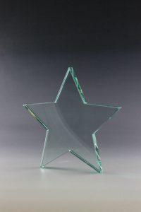 """Glaspokal """"Sala Award"""" mit Glasgravur"""