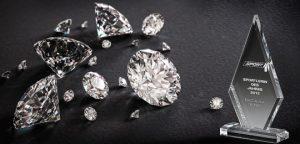 Acrylglastrophäen der Acryl Diamond Kollektion von Glaswert