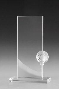 "Golfpokal ""Bent Award"" mit Golfball"